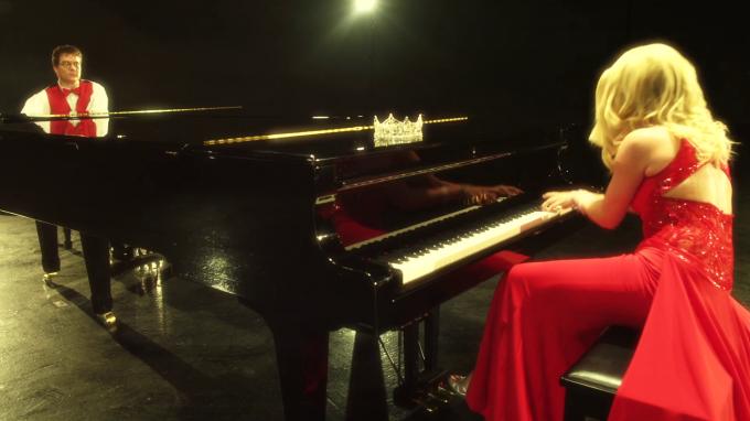 Dueling Pianos Teresa Scanlan Calvin Jones